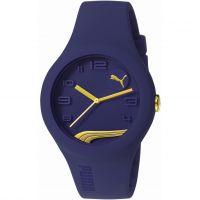 Herren Puma PU10300 FORM - blueberry gold Uhr