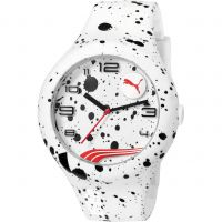 Herren Puma PU10321 FORM XL - white splash Uhr