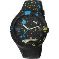 Herren Puma PU10321 FORM XL - black splash Uhr