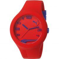 Herren Puma PU10321 FORM XL - red navy Watch PU103211022