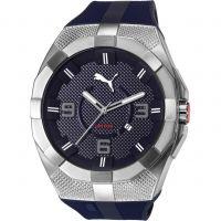 Herren Puma PU10392 ICONIC S - navy blue Uhr