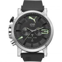 Herren Puma PU10398 ULTRASIZE 50 BOLD CHRONO - lumin Chronograf Uhr