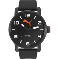 Herren Puma PU10414 ALTERNATIVE ROUND - gun black Uhr