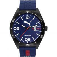 Herren Puma PU10415 DAY ESSENTIAL - navy black Watch PU104151003