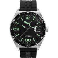 Herren Puma PU10415 DAY ESSENTIAL - silver luminous Uhr