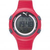 Herren Puma PU91128 FAAS 100 L - red Alarm Chronograph Watch PU911281003