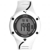 homme Puma PU91136 CARDIAC 01 - white grey Alarm Chronograph Watch PU911361004