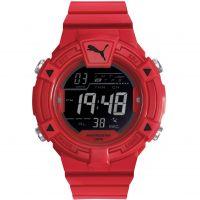 Herren Puma PU91138 COLLIDE DIGITAL - red black Wecker Chronograf Uhr