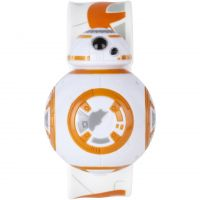 Childrens Star Wars BB8 Digital Flip Silicone Slap Watch STAR434