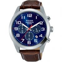 Mens Pulsar Chronograph Watch PT3811X1