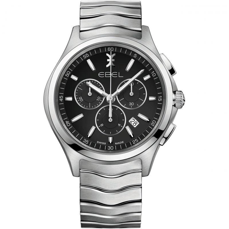 Herren Ebel Wave Chronograph Watch 1216342