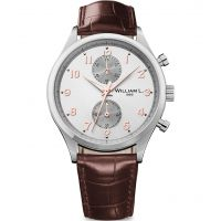 Herren William L 1985 Klein Chrono Chronograf Uhren