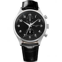 Mens William L 1985 Small Chrono Chronograph Watch