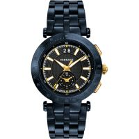homme Versace V-Race Chronograph Watch VAH050016