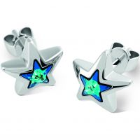 femme Swatch Bijoux Puntostella Stud Earrings Watch JES026-U