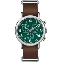 homme Timex Weekender Chronograph Watch TW2P97400