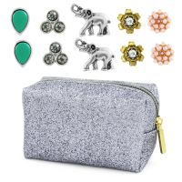 Ladies Lonna And Lilly Base metal Set of 5 Stud Earrings 60444009-906