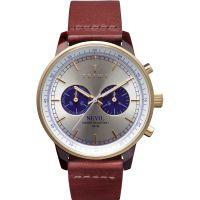 Herren Triwa Blau Zifferblatt Nevil 2.0 Chronograf Uhren