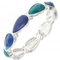 Ladies Nine West Base metal Droplet Bracelet 60450435-276