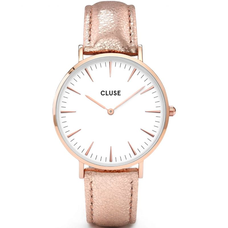 Ladies Cluse La Boheme Leather Watch CL18030