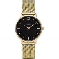 Damen Cluse Minuit Maschen Uhr