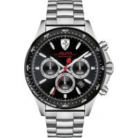 Mens Scuderia Ferrari Pilota Chronograph Watch 0830393