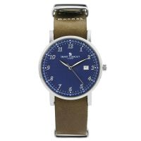 Unisex Smart Turnout Savant with Grey Leather Strap Watch STH5/SN/56/W-GRE