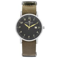 Unisex Smart Turnout Savant with Grey Leather Strap Watch