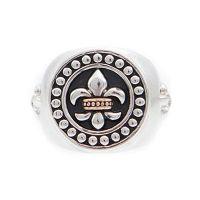 Icon Brand Jewellery Rebel Heritage Lys Sovereign Ring Size Medium JEWEL