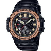Hommes Casio G-Shock Gulfmaster Maître Of G Vintage Noir And Alarme Chronographe Montre