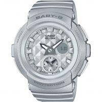 Damen Casio Baby-G Stud Dial Wecker Chronograf Uhren