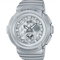 Damen Casio Baby-G Stud Dial Alarm Chronograph Watch BGA-195-8AER