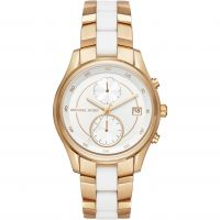 Ladies Michael Kors Briar Chronograph Watch