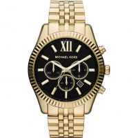Herren Michael Kors Lexington Chronograph Watch MK8286