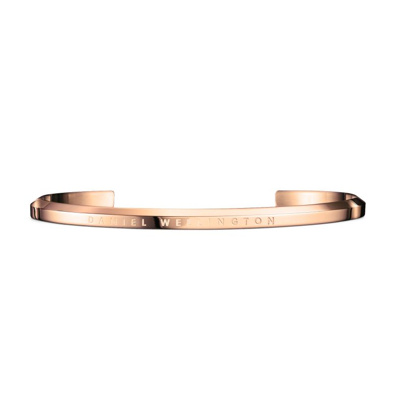 Daniel Wellington Rose Gold Plated Cuff Large DW00400001