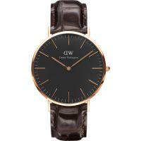 Unisex Daniel Wellington klassisch Schwarz York Uhr 40mm Uhr