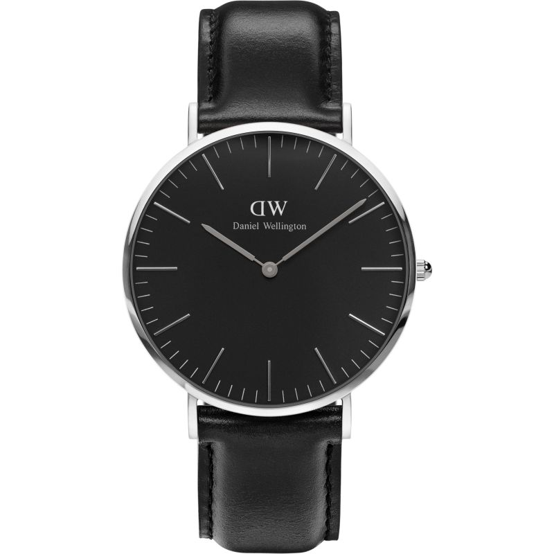 unisexe Daniel Wellington Classic Black Sheffield Watch 40mm Watch DW00100133