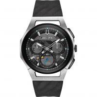Herren Bulova Progressive CURV Titan Chronograf Uhr
