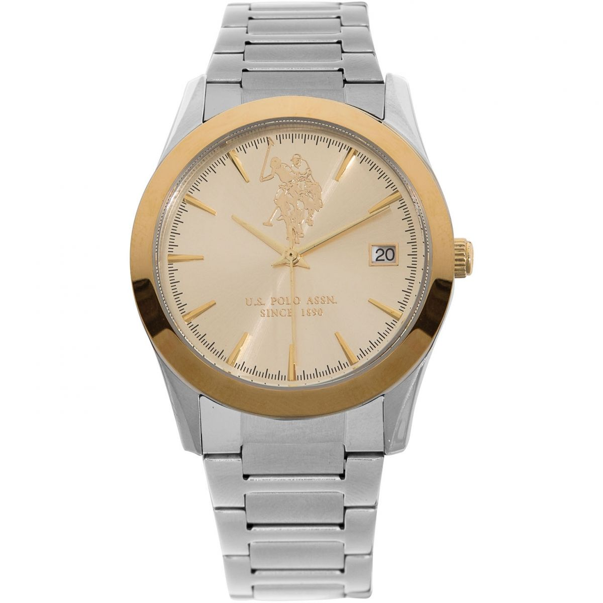 Us Polo Association Reloj Para Unisex Plata Usp5410yg