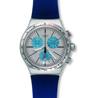 Herren Swatch Blau mich On Chronograf Uhr