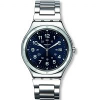 Herren Swatch Blau Boat Uhr
