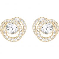 Swarovski Dames Earrings Verguld goud 5289032