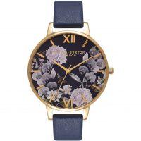 Damen Olivia Burton Enchanted Garten geblümt Uhren