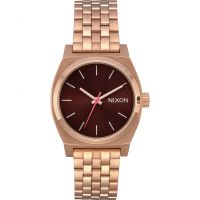 Nixon The Medium Time Teller Unisexklocka Rosa A1130-2617
