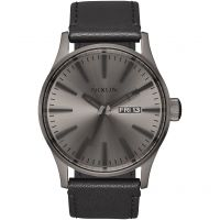 homme Nixon The Sentry Leather Watch A105-1531