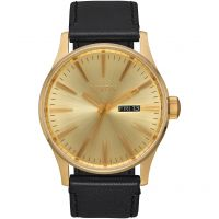 homme Nixon The Sentry Leather Watch A105-510