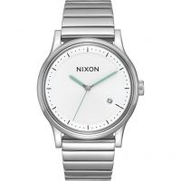 Nixon The Station Herenhorloge Zilver A1160-100