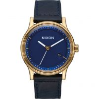 homme Nixon The Station Leather Watch A1161-933