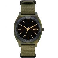 Nixon The Time Teller Acetate Unisexklocka Grön A327-2619