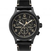 Timex Expedition Herenchronograaf Zwart TW4B09100